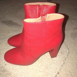 Banana Republic Dppred Block Heel Boots